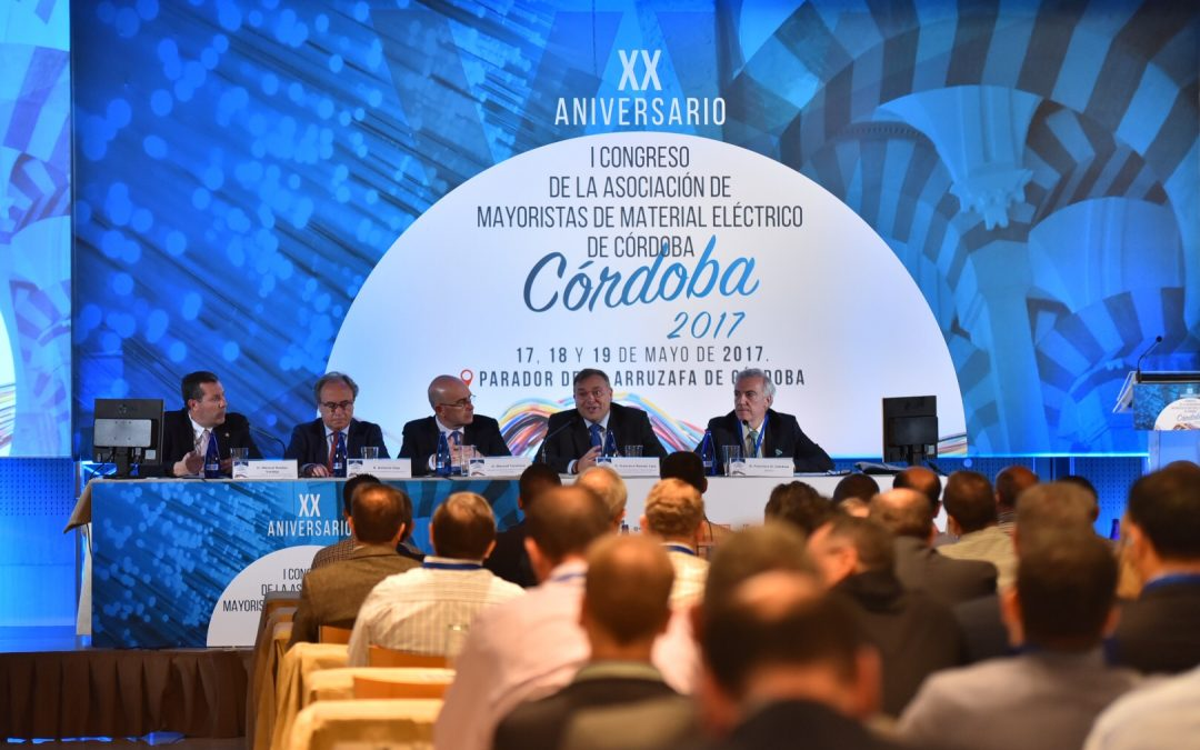 CONRAZON Participa en el Congreso del XX ANIVERSARIO DE LA ASOCIACION DE DISTRIBUCIÓN DE MATERIAL ELECTRICO DE CÓRDOBA-ADMECO